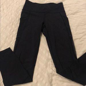 Lulu lemon full length dark navy leggings